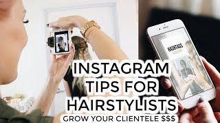 Increase your Instagram money | Suggestions for Hairstylists w/ @jamiedanahairstylist