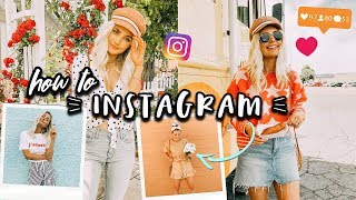 TIPS ON HOW TO INSTAGRAM! Could Shoot, Change + A lot more! | Aspyn Ovard