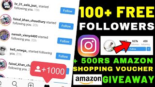 Ways to get INSTAGRAM Enthusiasts Fast 2019 | +500 Rs The amazon marketplace Shopping Coupon Giveaway 🔥🔥