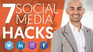 6 Social Media Hackers That'll Choose a Business Expand Faster | Neil Patel