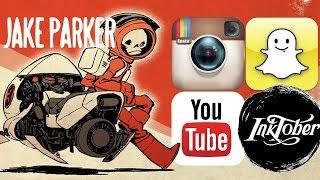 John Parker: Social media marketing, Snapchat, Instagram for Comedian Artists : CTC-6