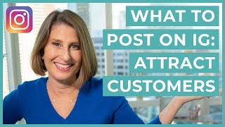 What you should Post In Instagram For people who do buiness (ATTRACT THE IDEAL CUSTOMER)