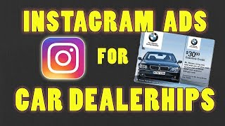 IDEAL Instagram Advertisements For Auto Dealerships (Social Media Marketing and advertising Agency)