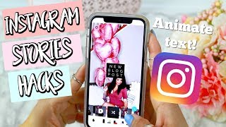 Instagram Stories Hackers | I' M EXPRESSING MY TECHNIQUES! | Belinda Selene