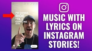 The best way to add Songs & Music Lyrics in order to Instagram Reports