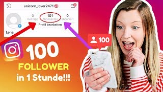 Bestimmt INSTAGRAM Fans bekommen you ought to GRATIS 95 Follower within 1 Sechzig minuten (Live Experiment)l Kathinska